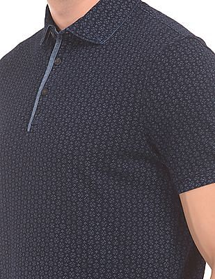 Nautica Printed Classic Fit Polo Shirt