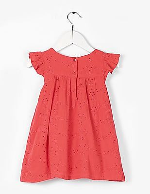 GAP Baby Eyelet Embroidered Dress