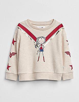 GAP Baby DC™ Wonder Woman Sweatshirt