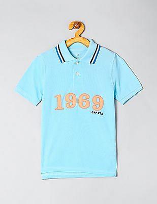 GAP Boys Logo Polo Shirt