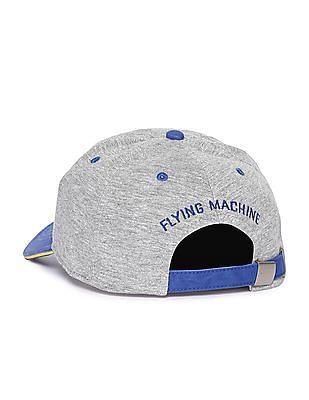Flying Machine Colour Block Appliqued Cap