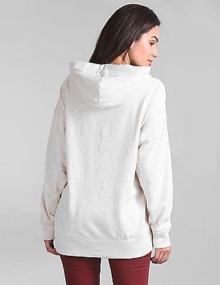 GAP Glitter Print Full Sleeve Sweatshirt