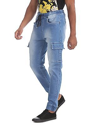 Colt Blue Slim Fit Jogger Jeans