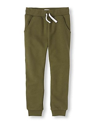 The Children's Place Boys Drawstring Waist Banded Joggers