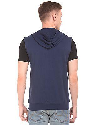 Cherokee Sleeveless Hooded Sweatshirt