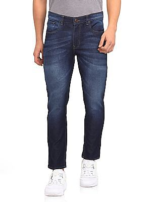 Cherokee Blue Low Rise Slim Fit Jeans