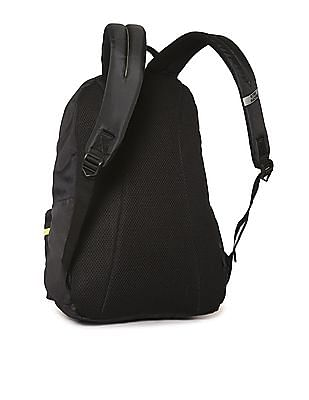 Flying Machine Solid Panelled Laptop Backpack