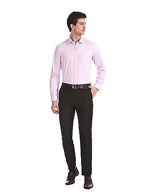 Excalibur Long Sleeve Vertical Stripe Shirt