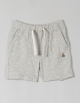 GAP Baby Grey Solid Shorts