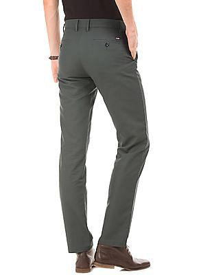 Arrow Sports Flat Front Regular Fit Chinos