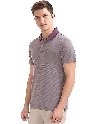 Arrow Geometric Print Regular Fit Polo Shirt