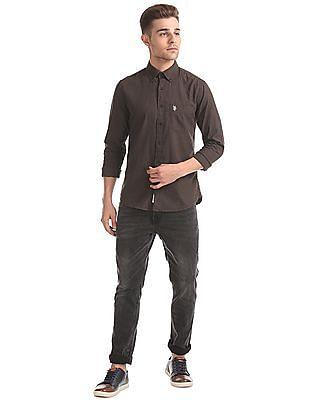 U.S. Polo Assn. Regular Fit Button Down Collar Shirt