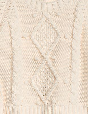 GAP Baby Cable-Knit Crewneck Sweater