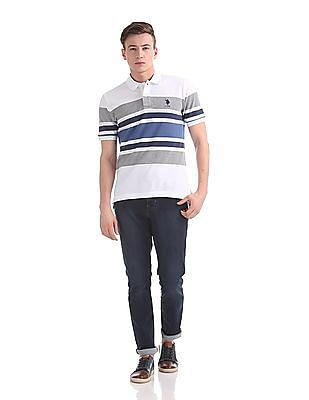 U.S. Polo Assn. Regular Fit Stripe Chest Polo Shirt