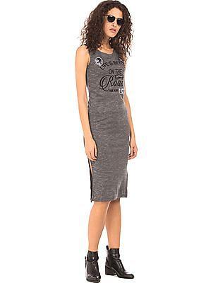 EdHardy Women Embellished Ribbed Knit Dress