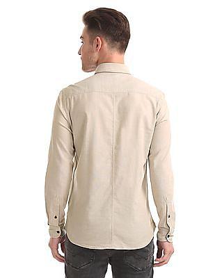 U.S. Polo Assn. Denim Co. Slim Fit Cotton Shirt