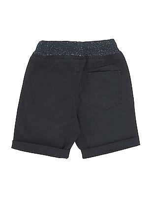 Cherokee Boys Ribbed Waist Woven Shorts