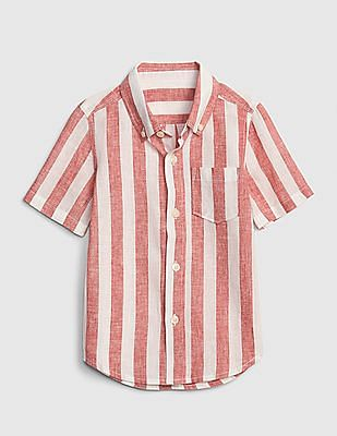 3918a288f Buy Unisex Kids 000000046753311301 Weathered Red / White Unisex Kids Shirt  online at NNNOW.com