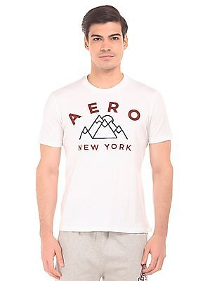 Aeropostale Short Sleeve Embroidered Front T-Shirt