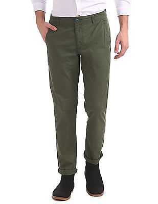 Ruggers Urban Slim Fit Twill Trousers
