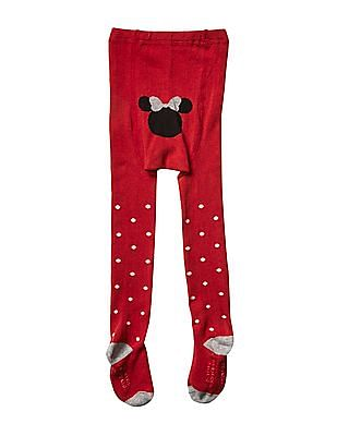 GAP Baby Disney Minnie Mouse Sweater Tights