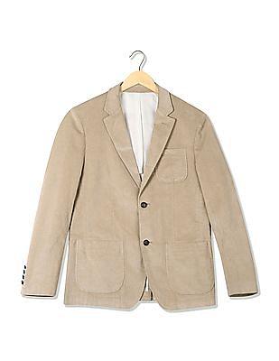U.S. Polo Assn. Denim Co. Single Breasted Corduroy Blazer