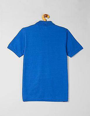 GAP Boys Stripe Polo Short Sleeve Shirt
