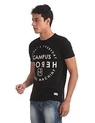 Flying Machine Short Sleeve Printed T-Shirt