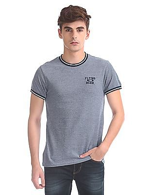 Flying Machine Regular Fit Pique T-Shirt