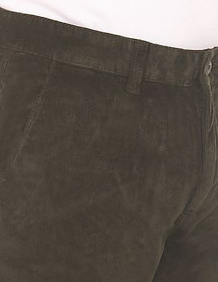 Ruggers Flat Front Corduroy Trousers