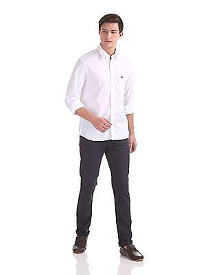 Arrow Sports Regular Fit Solid Shirt