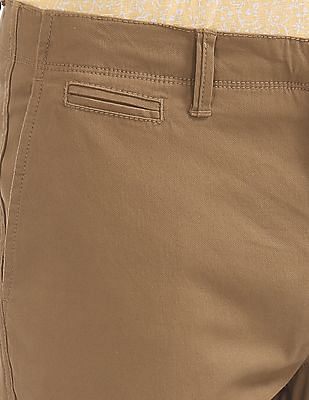 U.S. Polo Assn. Slim Fit Cotton Stretch Trousers