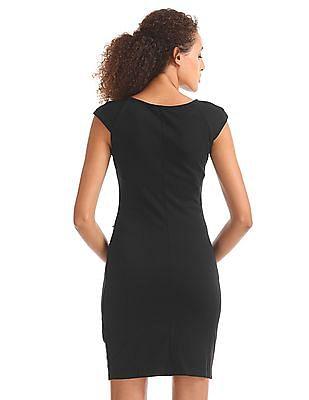 Elle Stud Embellished Bodycon Dress