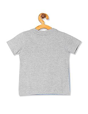 Cherokee Boys Layered Panel Graphic T-Shirt