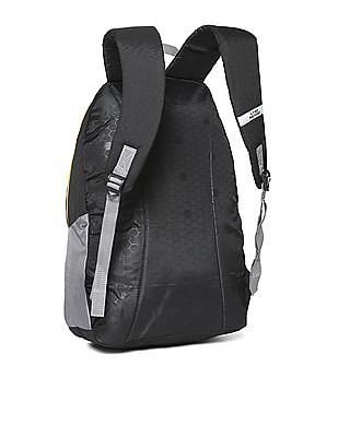 Flying Machine Contrast Printed Backpack