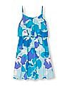 The Children's Place Girls Floral Print Flounce Dress