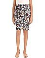 Elle Floral Print Pencil Skirt