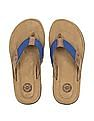 U.S. Polo Assn. Web Strap Leather Sandals