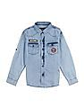 Cherokee Boys Washed Chambray Shirt