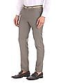 Excalibur Super Slim Fit Patterned Trousers