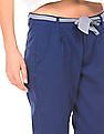 SUGR Pleated Front Cotton Trousers