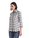 U.S. Polo Assn. Women Regular Fit Check Shirt