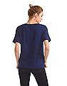 U.S. Polo Assn. Women Dolman Sleeve Boxy Top