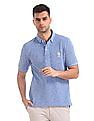 U.S. Polo Assn. Regular Fit Patterned Weave Polo Shirt