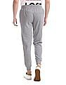 Colt Grey Drawstring Waist Heathered Joggers