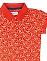 U.S. Polo Assn. Kids Girls Floral Print T-Shirt Dress