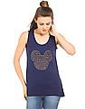 Flying Machine Women Mickey Mouse Tank Top