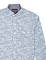 Cherokee Boys Dinosaur Print Cotton Shirt