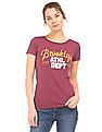 Aeropostale Embroidered Regular Fit T-Shirt