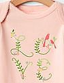GAP Baby Pink Love Bodysuit